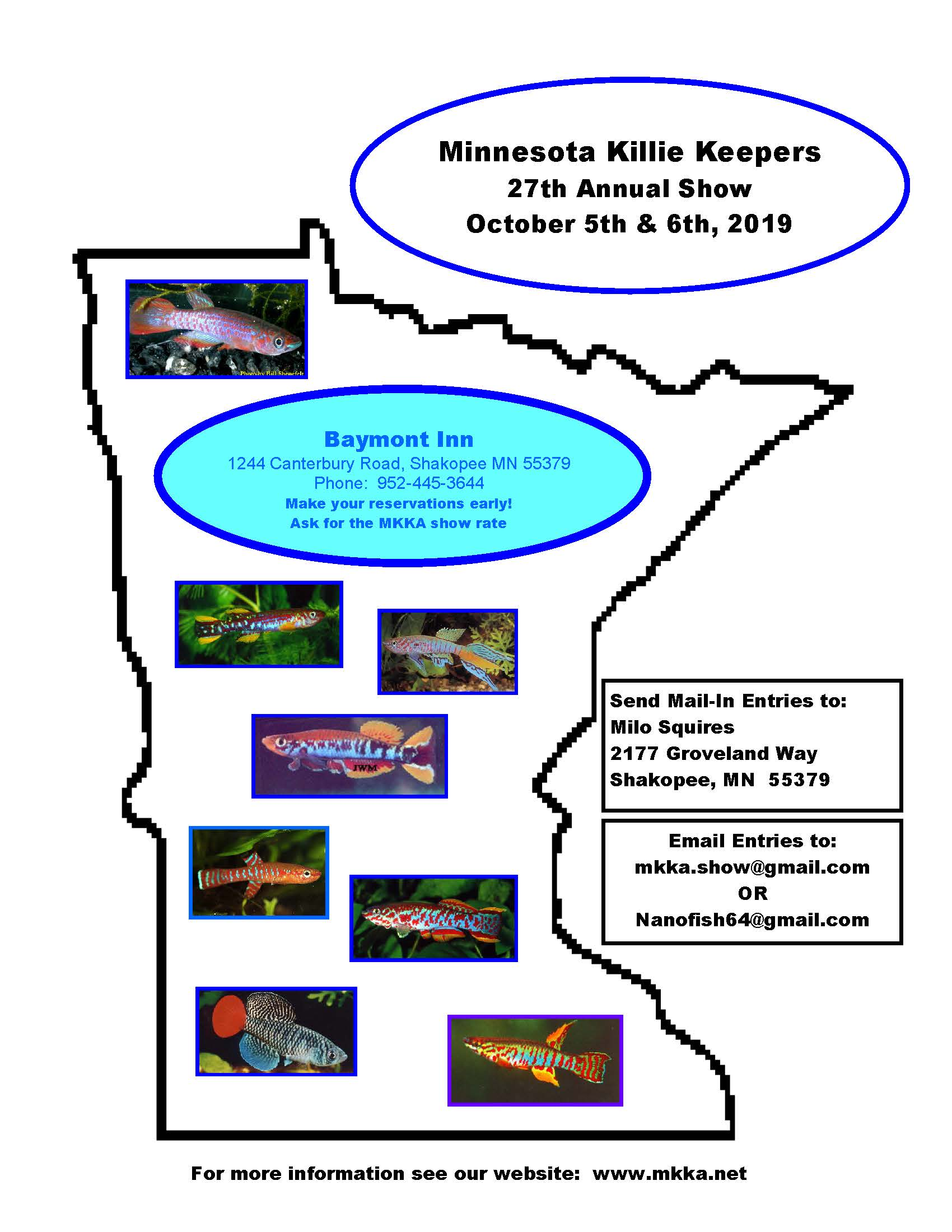MKKA 27th Annual Show - October 5-6, 2019 - Shakopee, Mn